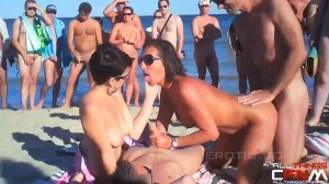 naturists couples making love